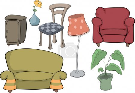 The furniture complete set