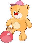 Hračky medvídě fotbalista