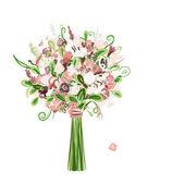 Wedding bouquet floral for your design