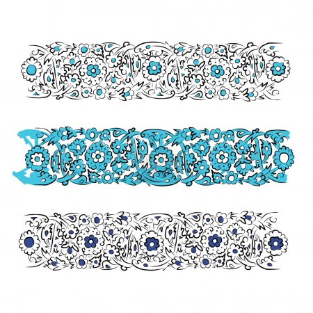 Illustration for Abstract turkish pattern for your design - Royalty Free Image