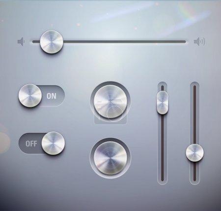 éléments d'interface utilisateur