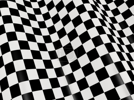 Photo for Sports background - abstract checkered flag - Royalty Free Image