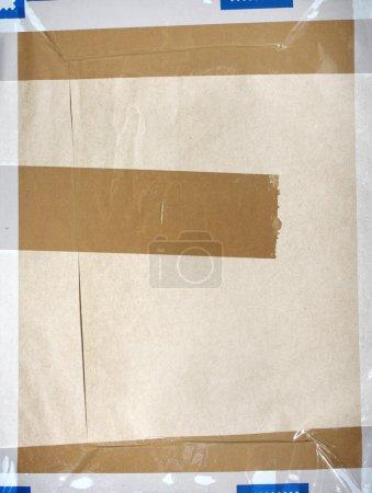 Photo pour Enveloppe vieux pour le design de scrapbooking - image libre de droit