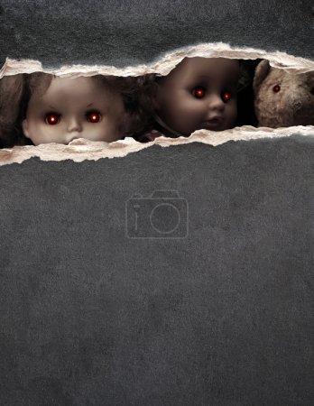 Dark series - vintage spooky toys
