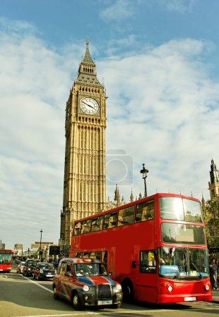 Photo pour Rue de Londres en une matinée. - image libre de droit