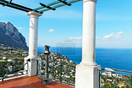Capri island.