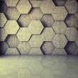 Abstract geometric background of the concrete...