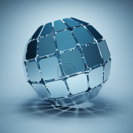 Design abstract ball