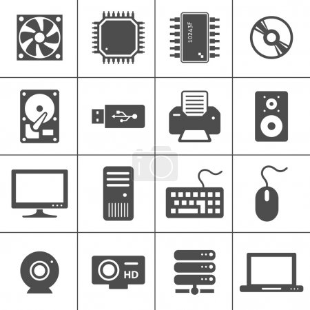 Computer Hardware Icons