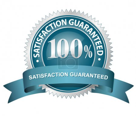 100 Satisfaction Guaranteed Sign