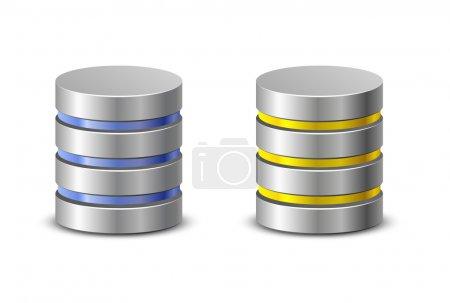 Database icons