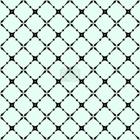 Ilustración de Patrón de vector geométrico simple - líneas sobre fondo - Imagen libre de derechos