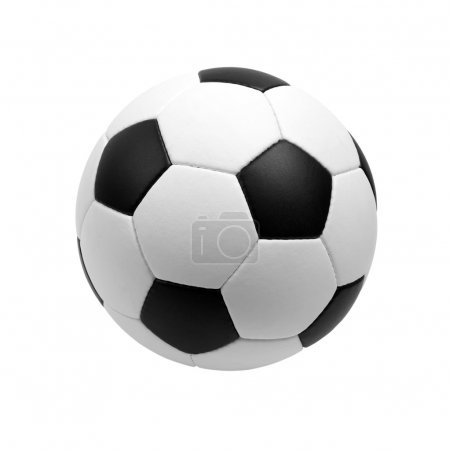 Photo for Soccer ball isolated on white background - Royalty Free Image