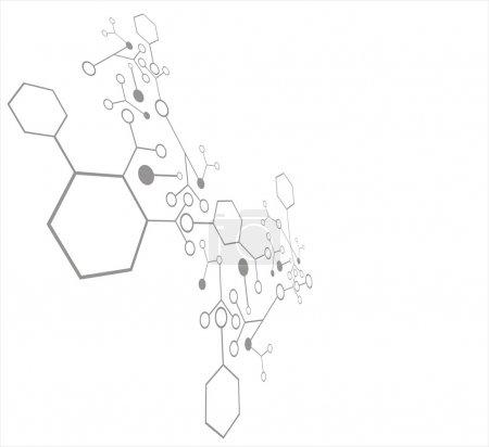 Molecule background...