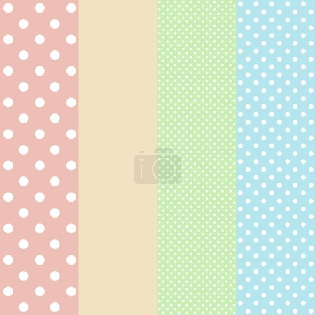 vintage background from polka dot