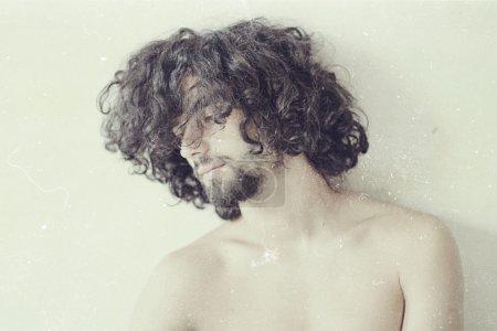 Foto de Foto Arte de guapo, estilo vintage - Imagen libre de derechos