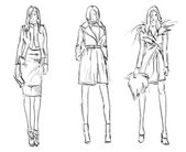 SKETCH fashion girls