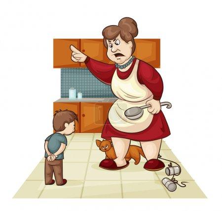 Punishment for son