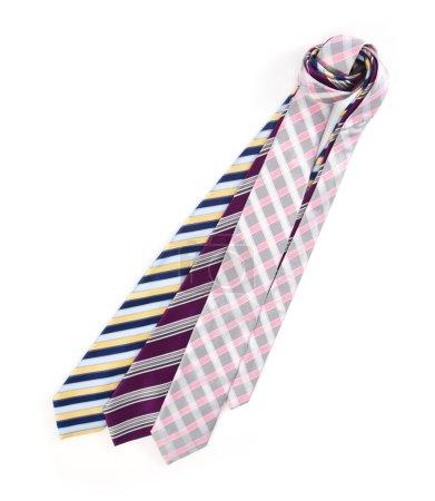 Various neckties