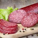 Salami sausage...