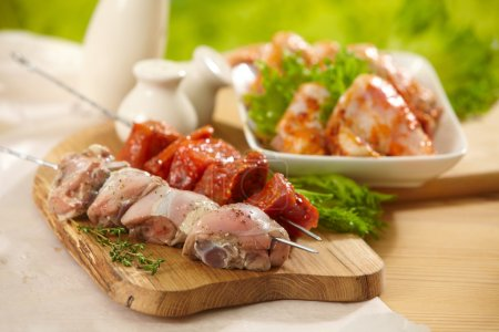 marinated meat for grill