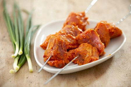 marinated pork meat for grill