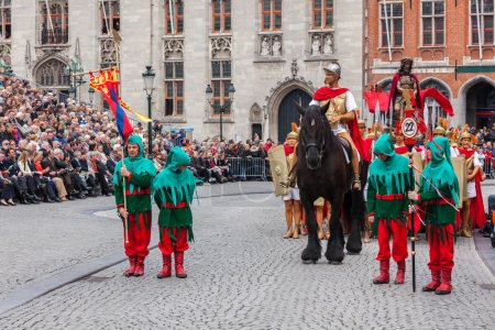 Procession of the Holy Blood on Ascension Day in Bruges (Brugge)
