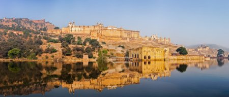 Panorama of Amer fort