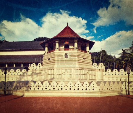 Temple of the Tooth. Sri Lanka