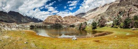 Lohan Tso - holy lake in Himalayas, India