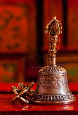 Tibetan Buddhist still life - vajra and bell