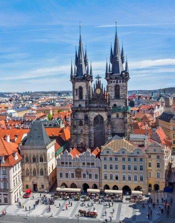 Tyn Church (Tynsky Chram), Prague