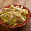 Poutine - common Canadian dish, originally from Qu...