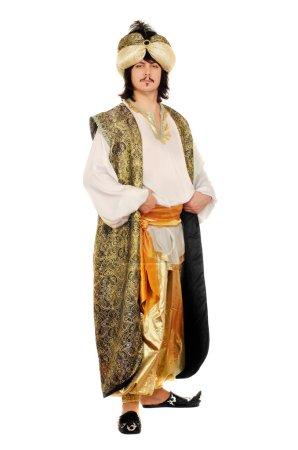 Portrait of a man in oriental costume