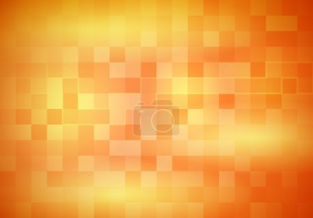 Abstract transparent background with tiles and flares