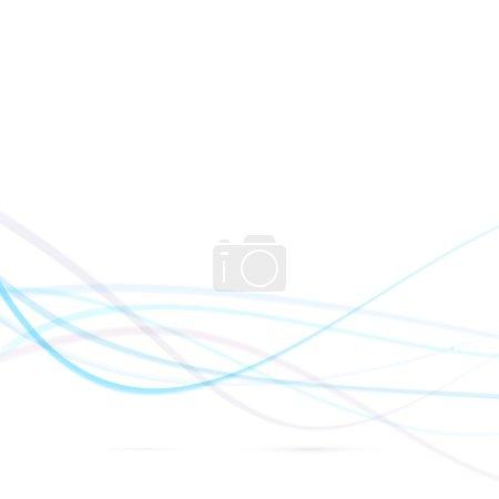 Speed lines background - blue swoosh