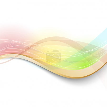 Modern bright transparent colorful background
