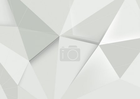 Illustration for Abstract crystal modern background - Royalty Free Image