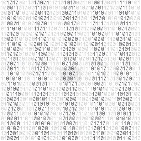 white code background