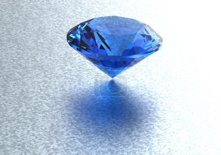 3D diamonds render
