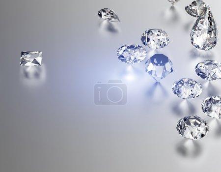 Jewelry gemstone Background