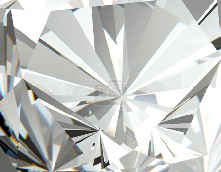Facet Diamond  Background