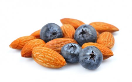 Photo for Blueberry with almonds closeup - Royalty Free Image