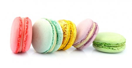 Photo for French macaroons .Dessert - Royalty Free Image