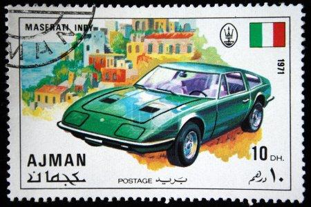 Аджманоколо 1971 штампа