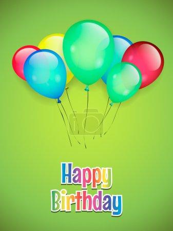 Illustration pour Joyeux anniversaire - image libre de droit