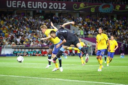 UEFA EURO 2012 game Sweden