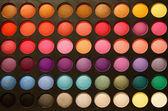 Professional multicolour eyeshadows palette