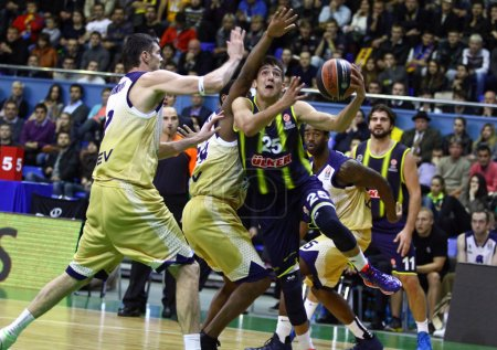 Turkish Airlines Euroleague game Budivelnik vs Fenerbahce Ulker