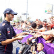 Постер, плакат: Formula 1 driver Daniel Ricciardo of Red Bull Racing Team
